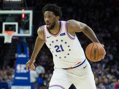 NBA Playoffs 2019: Philadelphia 76ers' Amir Johnson caught on camera showing Joel Embiid cellphone message during loss