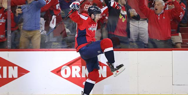 "It's hard to believe <a class=""link rapid-noclick-resp"" href=""/nhl/players/4986/"" data-ylk=""slk:Evgeny Kuznetsov"">Evgeny Kuznetsov</a> was drafted 26th overall in the 2010 NHL Draft."
