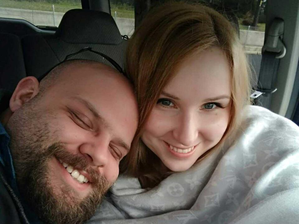 As their relationship took off, Anna Repkina decided to fly to the U.S. from her home in Russia to spend the holidays with Will Hargrove and see if their virtual love would stand up to reality. / Credit: Benton County Sheriff's Office