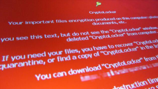 Ransomware example.