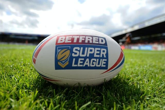 The Betfred Super League will resume on August 2 (Zac Goodwin/PA)