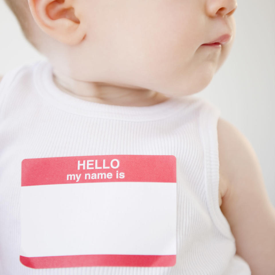 Can parents to be 'claim' a baby name? [Photo: Getty]
