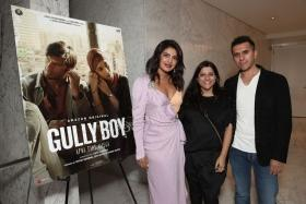 In support of Indian Cinema, PeeCee's hosts screening of Gully Boy in LA