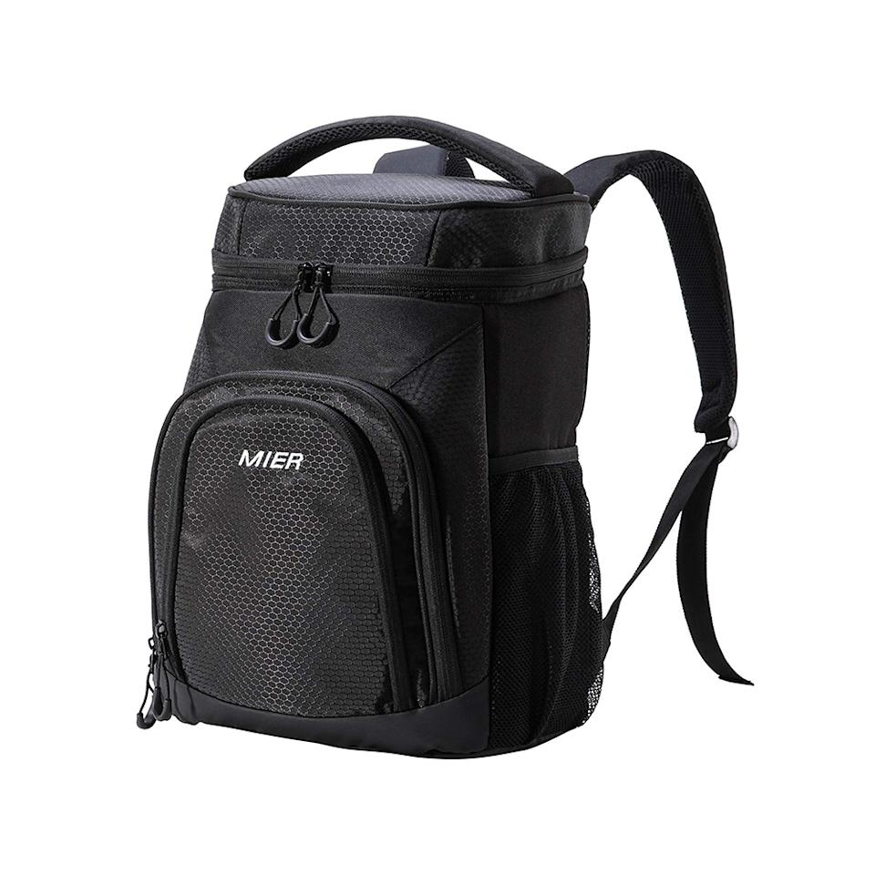 Mier Insulated Cooler Backpack. (Photo: Amazon)