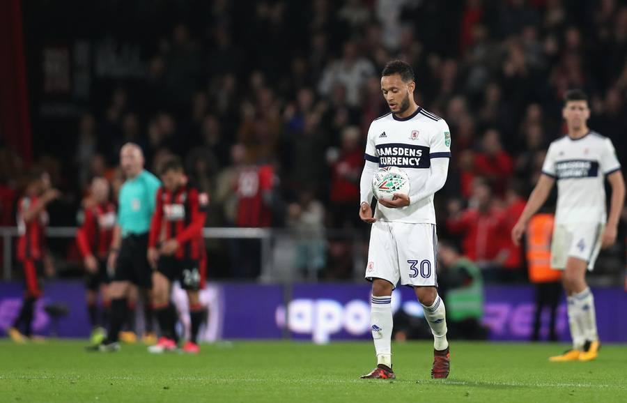 AFC Bournemouth v Middlesbrough - Carabao Cup Fourth Round