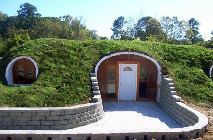 Green Magic Homes' Prefab Hobbit House
