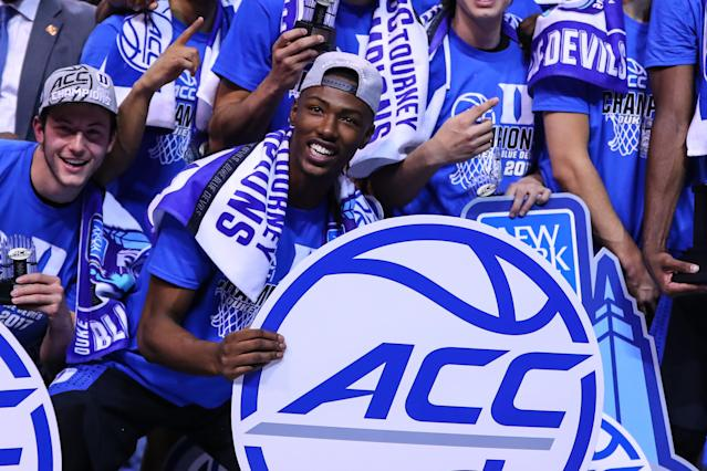 Headlined by preseason No. 1 Duke, the ACC boasts a stronger top tier than any other league in college basketball. (Getty)