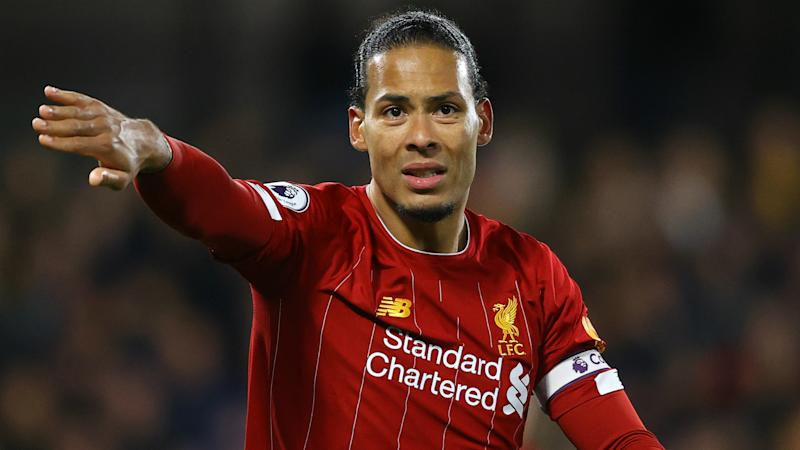 Van Dijk facial injury 'no big problem' says Klopp after defender forced off in Liverpool friendly draw with Salzburg