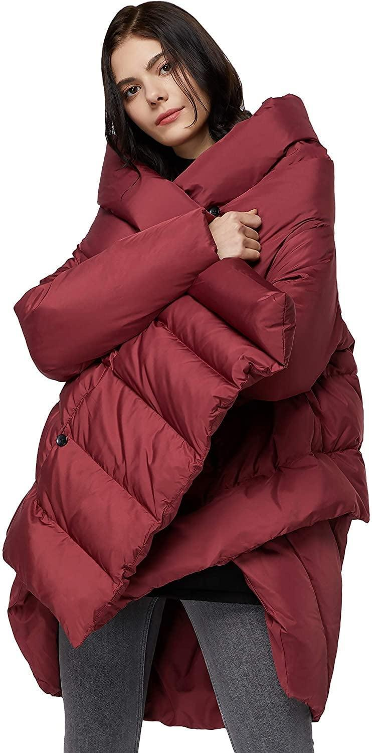 <p>This <span>Orolay Puffer Cloak-Type Jacket</span> ($120) will feel like you never left bed, so comfortable and snuggly it looks. You'll wear it multiple days in a row, it's that easy to slip in and out of.</p>