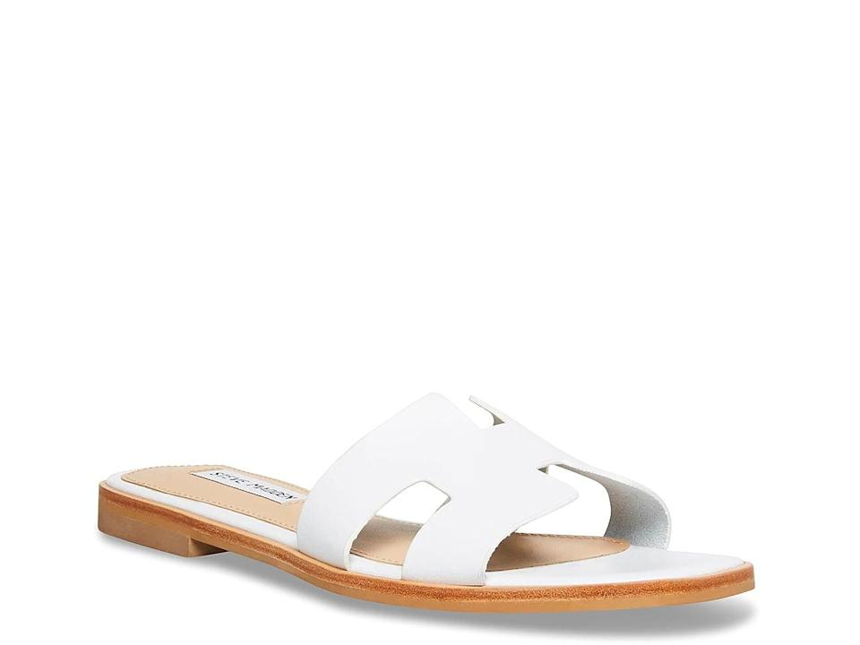<p>You'll love rocking these comfy <span>Steve Madden Hawthorne Sandals</span> ($65) every day of the week.</p>