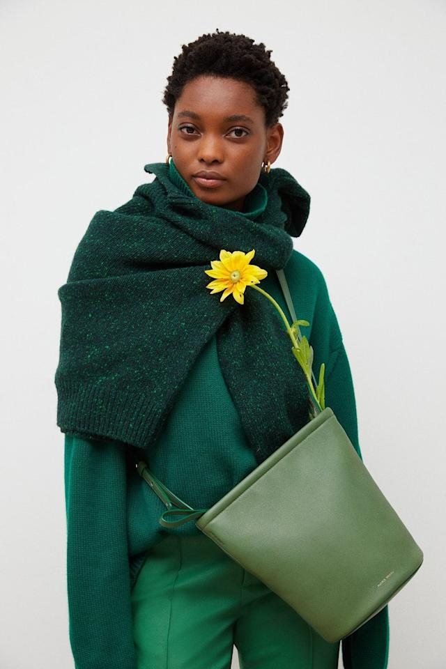"""<p>Mansur Gavriel's newest <product href=""""https://www.mansurgavriel.com/products/zip-bucket-prato"""" target=""""_blank"""" class=""""ga-track"""" data-ga-category=""""Related"""" data-ga-label=""""https://www.mansurgavriel.com/products/zip-bucket-prato"""" data-ga-action=""""In-Line Links""""> Zip Bucket Bag</product> ($695) is at the top of my wish list.</p>"""