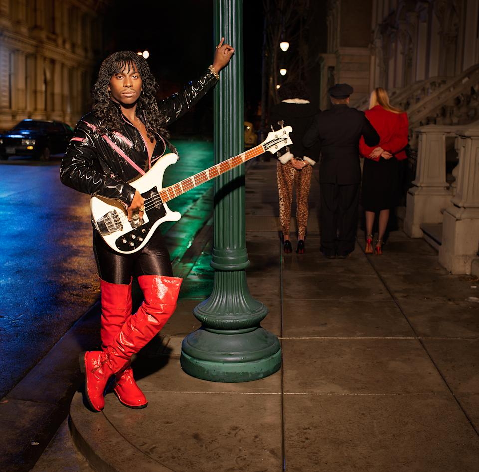 "Motocross rider James Stewart as Rick James' ""Street Songs"" (ESPN The Magazine)"