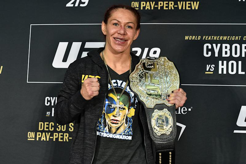 Cyborg vs. Kunitskaya, Edgar vs. Ortega rumored to headline UFC 222