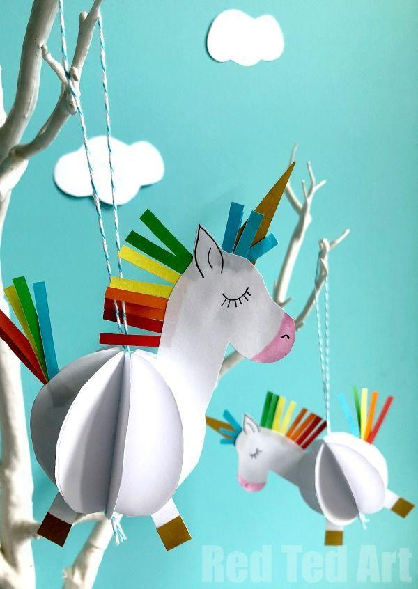"<p>Have your children customize this kid-friendly paper craft with their favorite colors. </p><p><strong>Get the tutorial at <a href=""https://www.redtedart.com/paper-unicorn-decoration/"" rel=""nofollow noopener"" target=""_blank"" data-ylk=""slk:Red Ted Art"" class=""link rapid-noclick-resp"">Red Ted Art</a>.</strong></p><p><strong><a class=""link rapid-noclick-resp"" href=""https://www.amazon.com/Just-Artifacts-Metallic-Striped-Assortment/dp/B01MQLXRQ9?tag=syn-yahoo-20&ascsubtag=%5Bartid%7C10050.g.23489709%5Bsrc%7Cyahoo-us"" rel=""nofollow noopener"" target=""_blank"" data-ylk=""slk:SHOP TWINE"">SHOP TWINE</a><br></strong></p>"