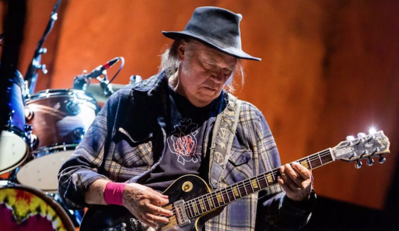 Neil Young shares extensive list of unreleased music, asks fans to pick next archival release