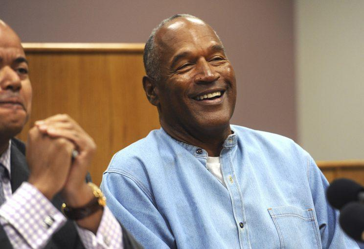 O.J. Simpson was parked Thursday via a unanimous vote. (AP)