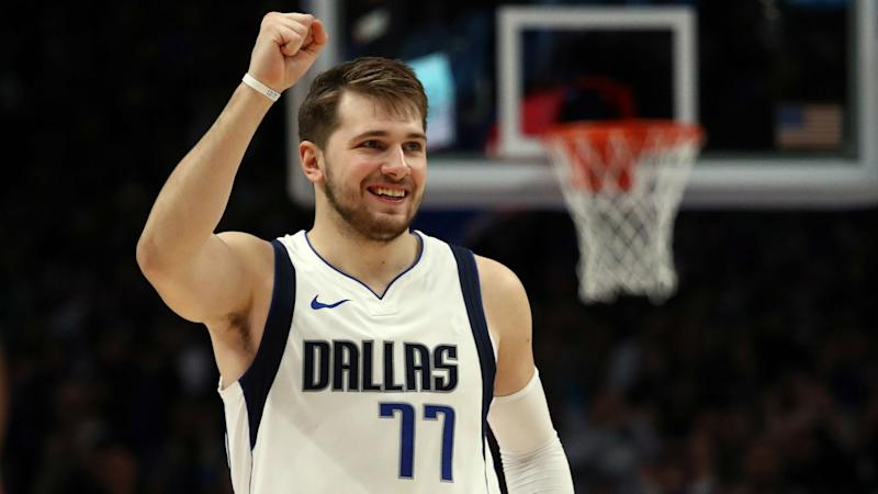 Red-hot Mavs star Doncic shrugs off latest triple-double: It's just stats