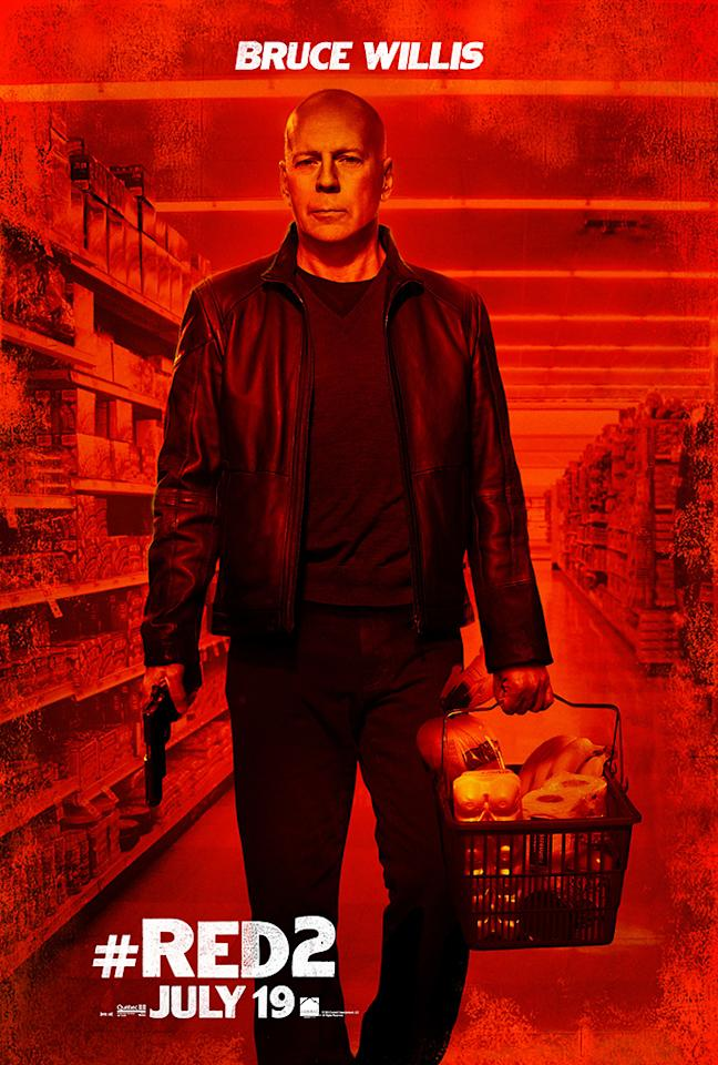 "Bruce Willis in Summit Entertainment's ""RED 2"" - 2013"