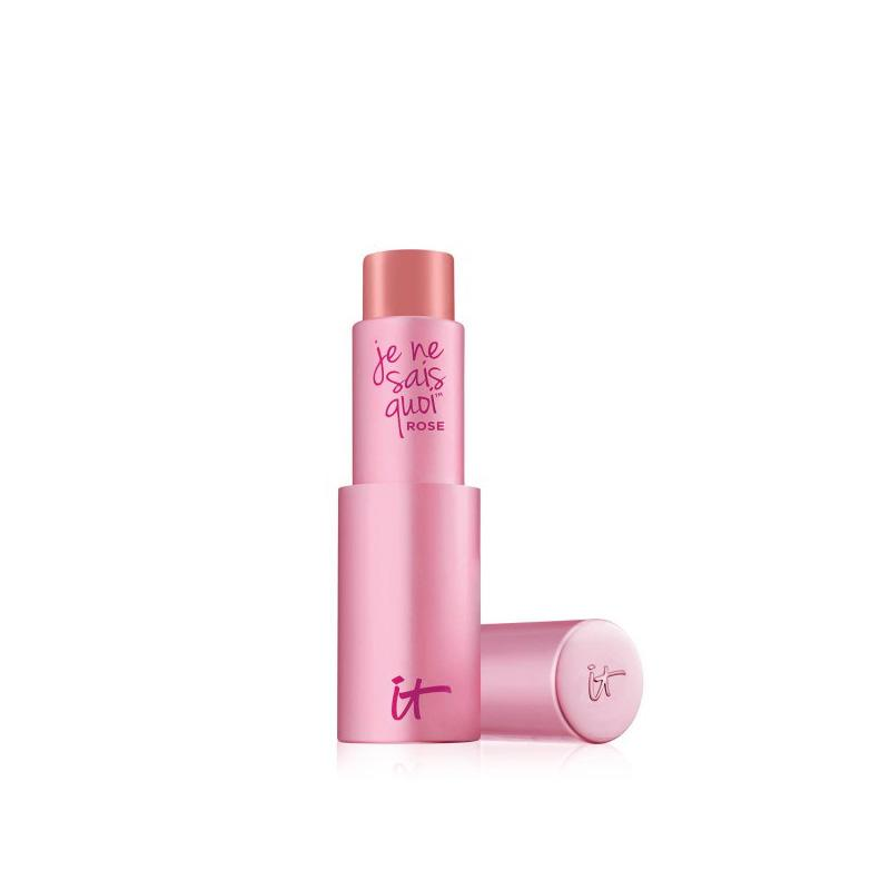 """<p>There are those hot, sizzling days where we want to wear next to nothing, but we do prefer to apply a slight whisper of makeup just to say we tried. This hydrating balm has built-in Vitality Lip Flush Technology, which basically creates a natural swatch of pink that's perfect for your skin tone and won't feel nearly as thick in texture as a full coverage lipstick. (<a rel=""""nofollow"""" href=""""https://www.itcosmetics.com/je-ne-sais-quoi-hydrating-color-awakening-lip-treatment"""">$24</a>, itcosmetics.com) </p>"""