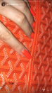 "<p>This electric shade of orange is currently the hottest color of the summer – according to the Kardashian/Jenner family. <a href=""https://www.instagram.com/p/Bhh6a4NlbuX/?taken-by=kimkardashian"" rel=""nofollow noopener"" target=""_blank"" data-ylk=""slk:Kim"" class=""link rapid-noclick-resp"">Kim</a>, <a href=""https://www.instagram.com/p/Bk1mGDqltnU/?taken-by=khloekardashian"" rel=""nofollow noopener"" target=""_blank"" data-ylk=""slk:Khloe"" class=""link rapid-noclick-resp"">Khloe</a>, <a href=""https://www.instagram.com/p/BifCmXyhXCJ/?taken-by=kourtneykardash"" rel=""nofollow noopener"" target=""_blank"" data-ylk=""slk:Kourtney"" class=""link rapid-noclick-resp"">Kourtney</a>, and <a href=""https://www.instagram.com/p/BlBVHBMAoAZ/?taken-by=kyliejenner"" rel=""nofollow noopener"" target=""_blank"" data-ylk=""slk:Kylie"" class=""link rapid-noclick-resp"">Kylie</a> have all been spotted wearing this hue, but Kendall chose a more subtle take with a simple coat of orange on her nails. Looks like I need to go polish shopping!</p>"