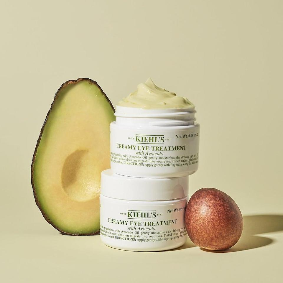 <p>The <span>Kiehl's Since 1851 Creamy Eye Treatment with Avocado</span> ($50) is perfect for dry under eyes. It's a great under eye cream for the winter, a little goes a long way!</p>