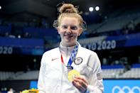 """<p>Biography: 17 years old</p> <p>Event: Women's 100m breaststroke (swimming)</p> <p>Quote: """"It's just incredible to come out of the water and see my name on the scoreboard."""" </p>"""