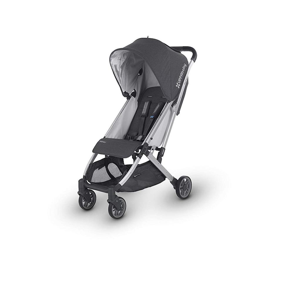 "<p><strong>UPPAbaby</strong></p><p>amazon.com</p><p><strong>$399.99</strong></p><p><a href=""https://www.amazon.com/dp/B07B8WH9PJ?tag=syn-yahoo-20&ascsubtag=%5Bartid%7C10055.g.31782776%5Bsrc%7Cyahoo-us"" rel=""nofollow noopener"" target=""_blank"" data-ylk=""slk:Shop Now"" class=""link rapid-noclick-resp"">Shop Now</a></p><p>Our Lab experts deemed the MINU stroller the best lightweight stroller in their tests because it's a lot lighter to carry and easier to fold than other strollers of its kind. Plus, <strong>despite its light weight, the MINU is great at handling rougher terrains and features a large under storage basket compared to other strollers tested.</strong> The seat can recline deeply, making it perfect for nap time. </p><p><strong>• Stroller weight: </strong>14.5 pounds<strong><br><strong>• </strong>Weight limit</strong>: 50 pounds<br><strong><strong>• </strong>Ages</strong>: 3 months and up</p>"