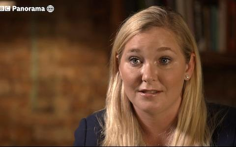 Virginia Roberts claims she was a trafficking victim made to have sex with Prince Andrew - Credit: BBC Panorama