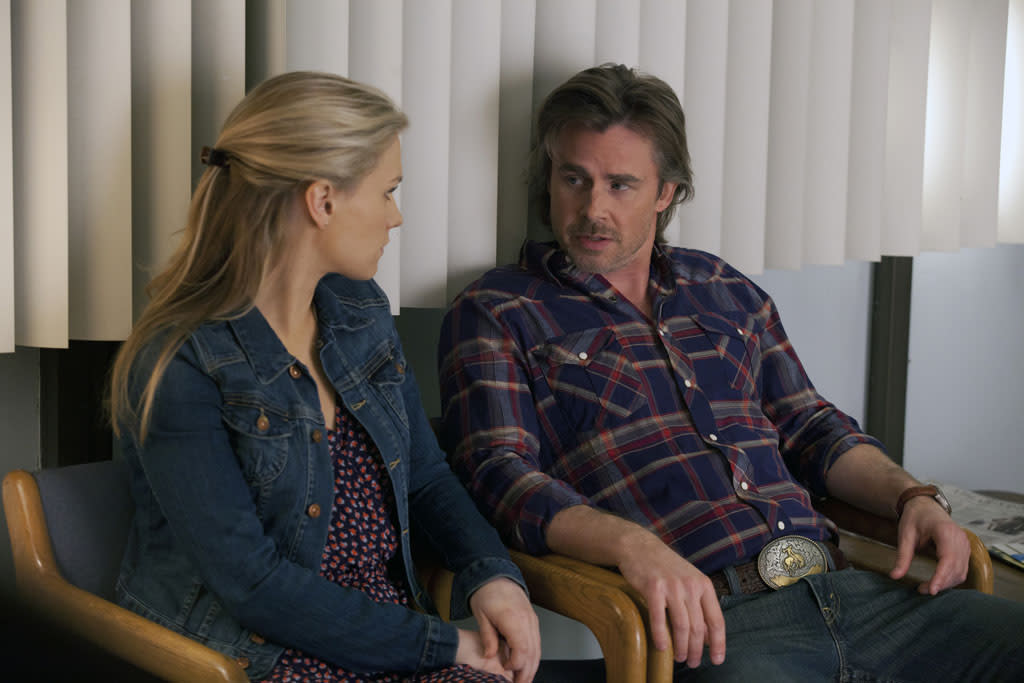 """Anna Paquin and Sam Trammell in the """"True Blood"""" episode, """"In the Beginning."""""""