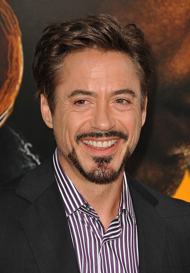 "<a href=""http://movies.yahoo.com/movie/contributor/1800010914"">Robert Downey Jr.</a> at the Los Angeles premiere of <a href=""http://movies.yahoo.com/movie/1809986571/info"">The Soloist</a> - 04/20/2009"