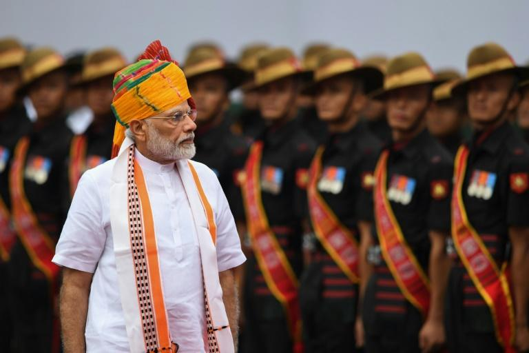 Indian PM Narendra Modi said the decision in Kashmir was one of several 'pathbreaking' moves