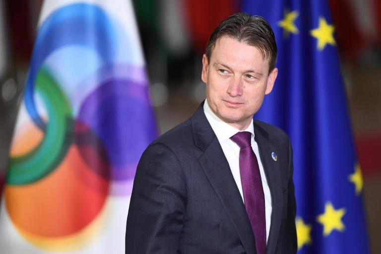 Halbe Zijlstra had only served as Dutch foreign minister for four months
