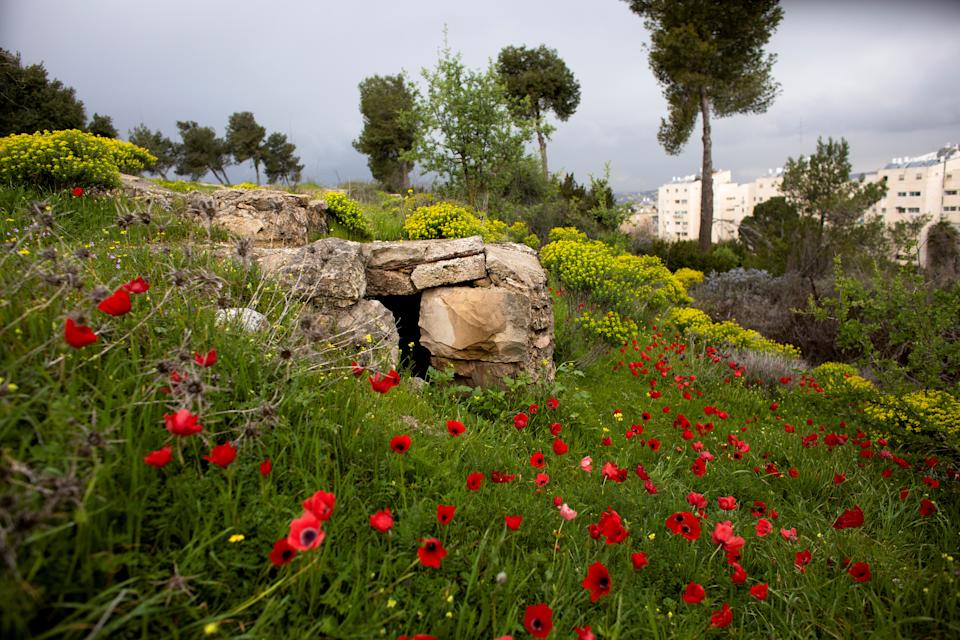 A part of a trench is seen in a former Jordanian military post known as Ammunition Hill in Jerusalem, March 5, 2019. Originally built by the British, the site was captured by Jordan in the 1948-1949 war and held by it until Israeli troops captured it in the 1967 Six Day War. (Photo: Ronen Zvulun/Reuters)
