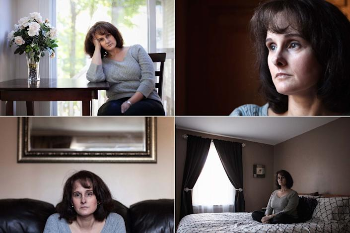 """Lisa, a 45-year-old writer, posedfor a portrait in her home in Massachusetts on October 13, 2012. Lisa saidshe became pregnant and had two abortions when she was in her 30s.<br /><br /><i>""""I regret the choices that I made with regard to the men I was with... that's time that I can't get back. But, I do not regret the decision to terminate those pregnancies. That was the right decision for each one of those pregnancies that was tied to each one of those men.""""<br /><br /></i>Read the rest of Lisa's story <a href=""""http://allisonjoyce.com/abortion-after-the-decision/ABORTION_ALLISONJOYCE__101-copy/"""" target=""""_blank"""">here</a>."""