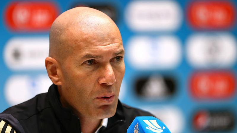 Zidane states Real Madrid are under no Copa illusions heading to snow-hit Las Pistas