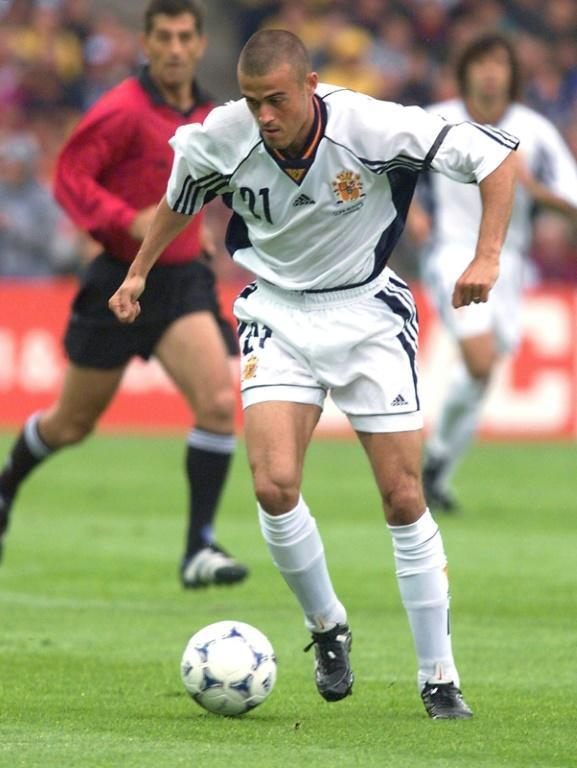 Luis Enrique won 62 international caps and was a starter at the 1998 World Cup where Spain were eliminated at the group stage
