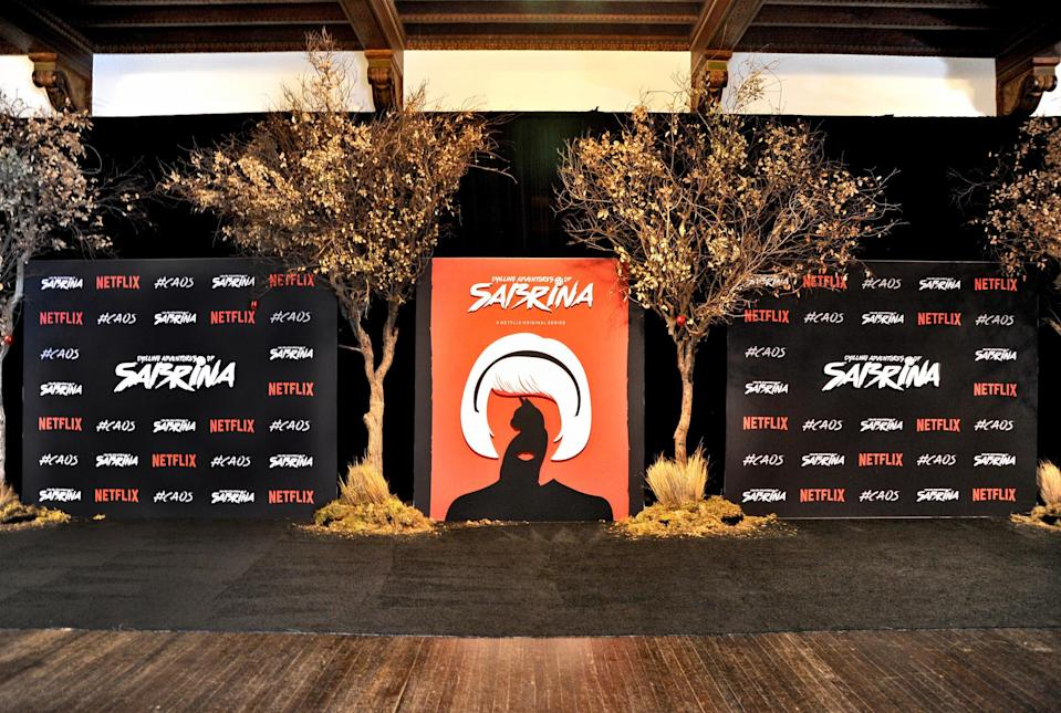 HOLLYWOOD, CA - OCTOBER 20:  Teen Vogue x Netflix Chilling Adventures Of Sabrina #SpellmanHouse at Hollywood Athletic Club on October 20, 2018 in Hollywood, California.  (Photo by John Sciulli/Getty Images for Teen Vogue)