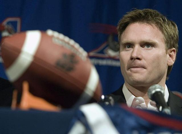 The CFL says American businessman Robert Wetenhall still owns the Montreal Alouettes but if the franchise goes up for sale, a group headed by former player Eric Lapointe won't be in the running.Lapointe said Friday his group of potential investors has decided against pursuing ownership of the troubled CFL franchise. He added that decision was made Thursday.Lapointe, a former Alouettes running back who's now working in wealth management, offered no reason for the group's decision. But it would appear to leave just one potential ownership group in the running, one reportedly headed up by Montreal businessman Clifford Starke.For now, though, a CFL spokesman said Wetenhall continues to own the Als. But the real possibility exists that the league could be tasked with helping find a new owner.For weeks, it appeared Lapointe would be a central figure in that pursuit. The two-time Hec Crighton Trophy winner as the top player in Canadian university football is currently a managing director with Stonegate Private Counsel in Montreal. His offices assist high net-worth entrepreneurs with sustaining, growing and transitioning their wealth.Lapointe, a 44-year-old Montreal native who was inducted into the Canadian Football Hall of Fame in 2012, had stated often he could quickly pull together a well-funded local ownership group if contacted. There were reports last month the Alouettes were close to being sold, but club president Patrick Boivin denied the franchise was up for sale.Lapointe, who played collegiately at Mount Allison, spent eight seasons as a running back in the CFL with Edmonton, Hamilton, Toronto and Montreal. He played six of those campaigns with the Alouettes through the 2006 campaign.Wetenhall has owned the Alouettes for more than 20 years. He resurrected the franchise in 1997 after it was revoked from Michael Gelfand and declared bankruptcy. Wetenhall also assumed the organization's debts despite not legally being obligated to do so.Early in Wetenhall's tenure, the Alouettes were a CFL powerhouse. From 1999 to 2012, the Alouettes finished atop the East Division nine times and advanced to the Grey Cup on eight occasions, winning three.But Montreal hasn't been to the Grey Cup since winning it in 2010. The club has posted a record of .500 or better in just three seasons since and hasn't been to the CFL playoffs since 2014, amassing a dismal 21-51 record over that span.Wetenhall was a former part-owner of the Boston Patriots (AFL) and New England Patriots (NFL). In 2011, he received an honorary Doctor of Laws degree from McGill University for his work with the Alouettes and expansion of Percival Molson Stadium.Wetenhall was inducted into the Canadian Football Hall of Fame in 2015.Dan Ralph, The Canadian Press
