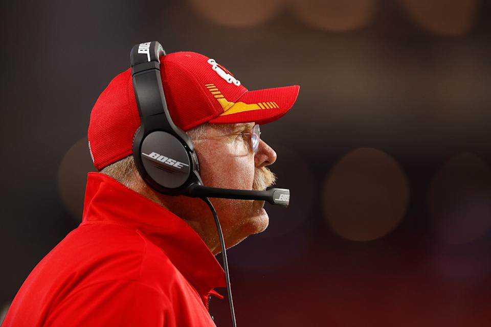 Andy Reid with the Chiefs.