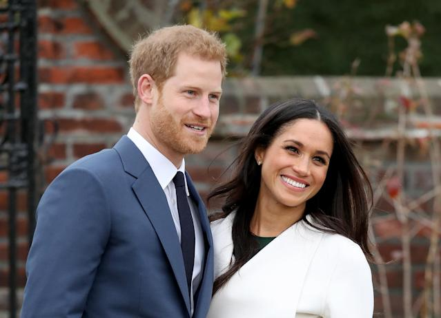 Prince Harry and Meghan Markle. (Photo: Chris Jackson/Getty Images)