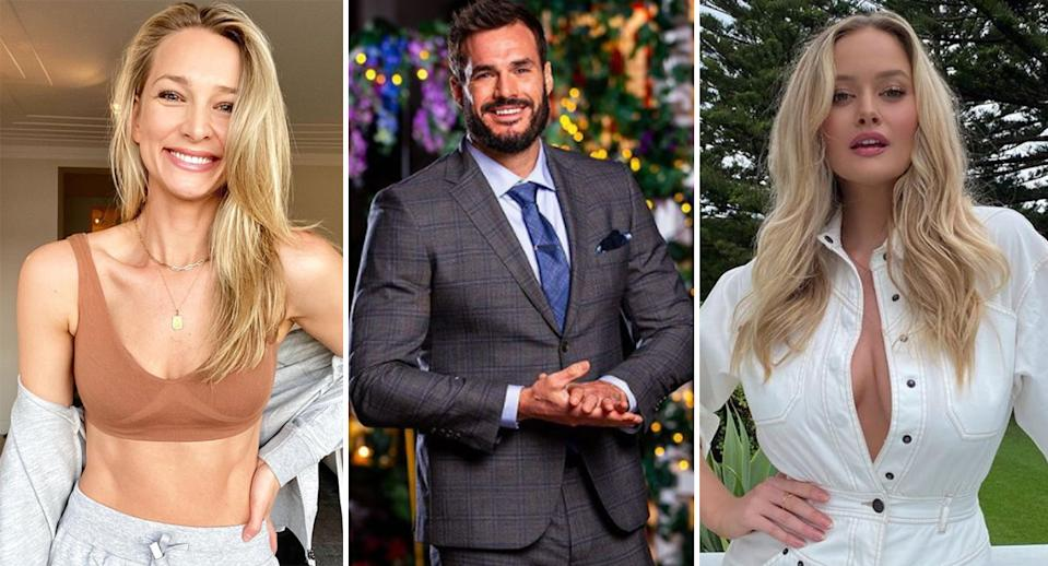 bachelor Locky Gilbert and Anna Heinrich, and simone holtznagel