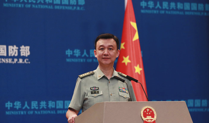 Defence spokesperson Wu said China was not afraid of the US. Source: MND