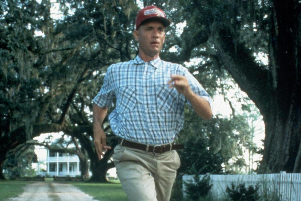 Tom Hanks in 'Forrest Gump' (Paramount Pictures): Rex Features