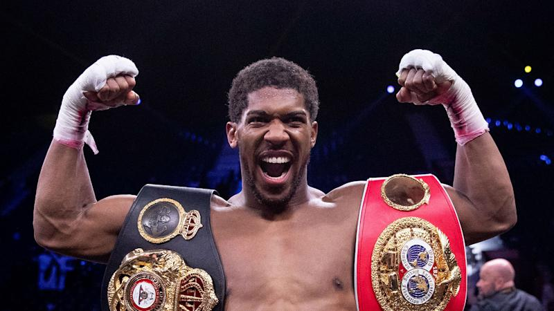 Hearn: Joshua will fight this year, behind closed doors if he has to