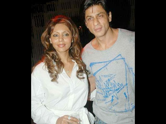 Shah Rukh and Gauri's happy married life is a reflection of all that is good about India. SRK, a Muslim married a Hindu girl Gauri, and the rest as they say is history.