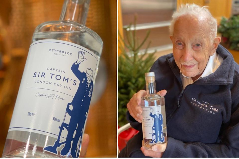 <p>Captain Tom has launched his own gin</p> (Otterbeck Distillery)