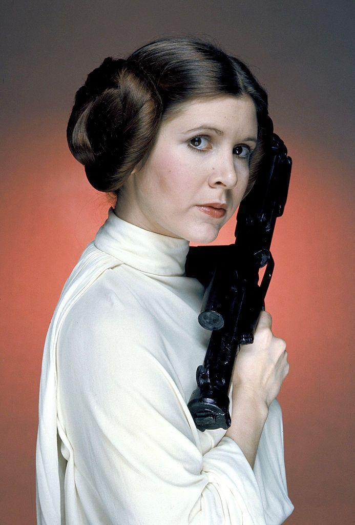 <p>Carrie landed her breakout, and most notable, role in 1977 at the age of 22. She starred in the first <em>Star Wars </em>movie as Princess Leia. </p>