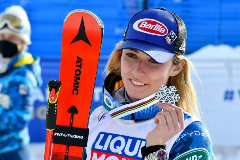 American Mikaela Shiffrin is the four-time defending champion in the slalom at the world championships