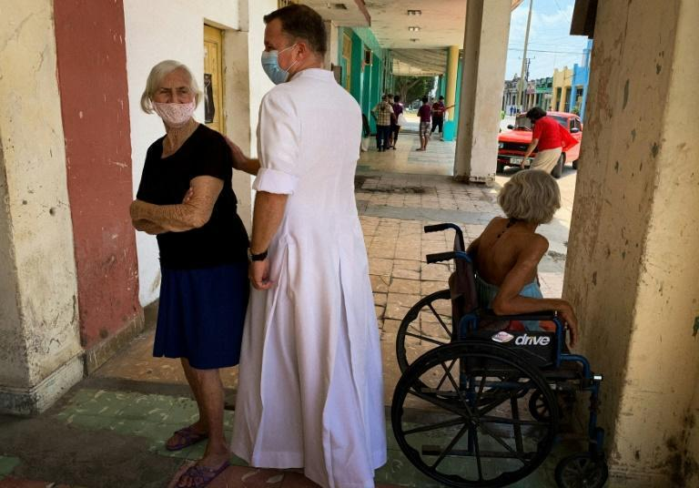 The Catholic Church in Placetas has opened soup kitchens, day care centers, a boarding school and an old-age home