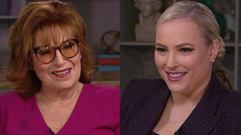 Here's What Meghan McCain and Joy Behar Want You to Know About Their Relationship (Exclusive)
